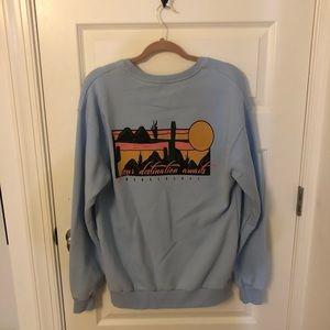 NWOT Topshop Arizona Destination Sweatshirt